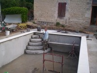 construction swimming pool france